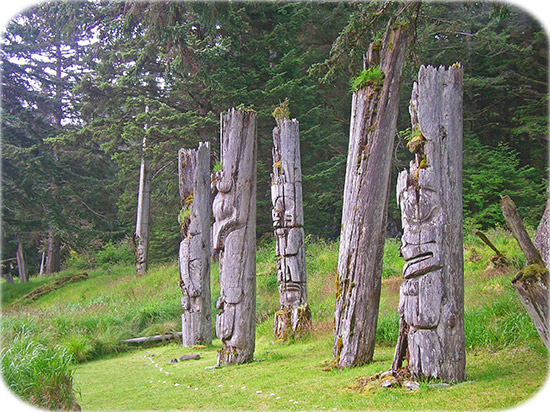 Haida village of Ninstints