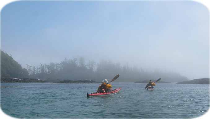 Sea Kayak Haida Gwaii